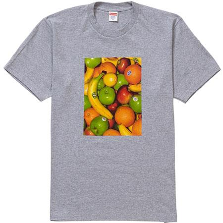 Supreme Fruit Tee- Heather Grey