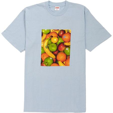 Supreme Fruit Tee- Light Blue