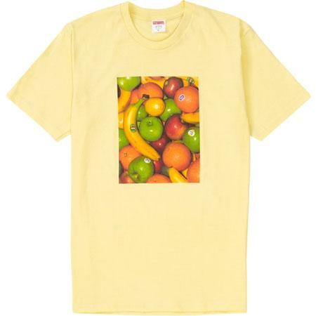 Supreme Fruit Tee- Pale Yellow