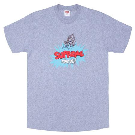 Supreme Ganesha Tee- Heather Grey
