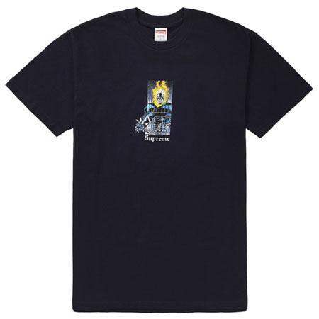 Supreme Ghost Rider Tee- Navy
