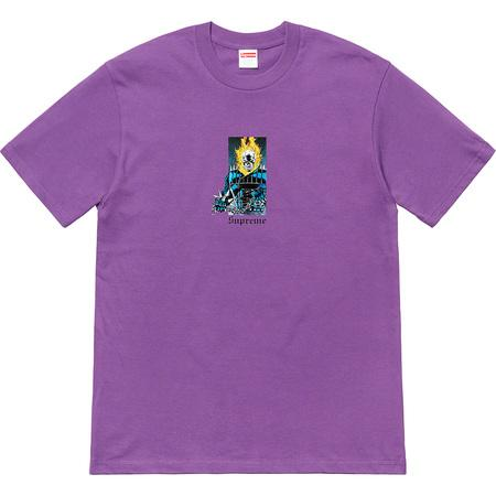 Supreme Ghost Rider Tee- Purple