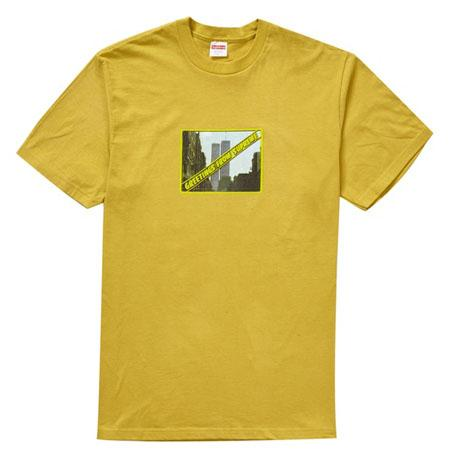 Supreme Greetings Tee- Acid Yellow