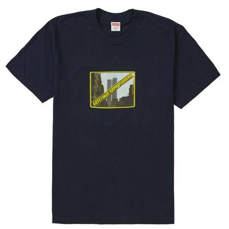 Supreme Greetings Tee- Navy