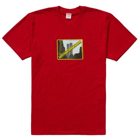 Supreme Greetings Tee- Red