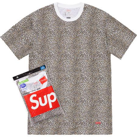 Supreme Hanes Leopard Tagless Tees (2 Pack)- Leopard
