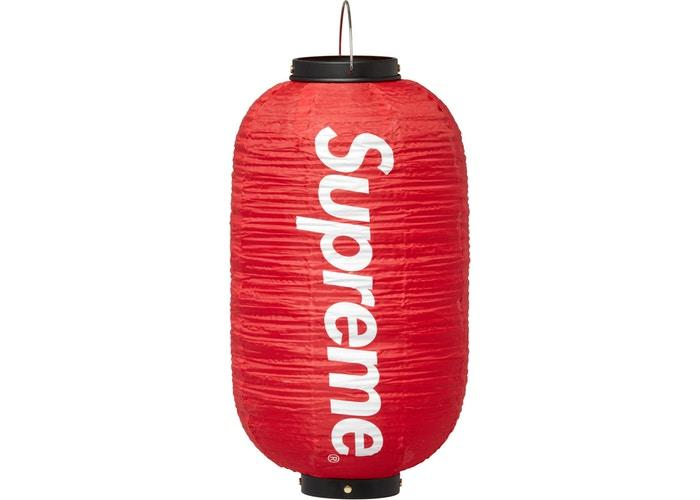 Supreme Hanging Lantern- Red