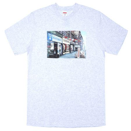 Supreme Hardware Tee- Ash Grey