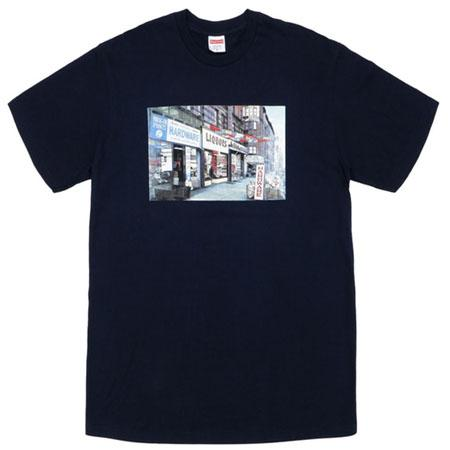 Supreme Hardware Tee- Navy