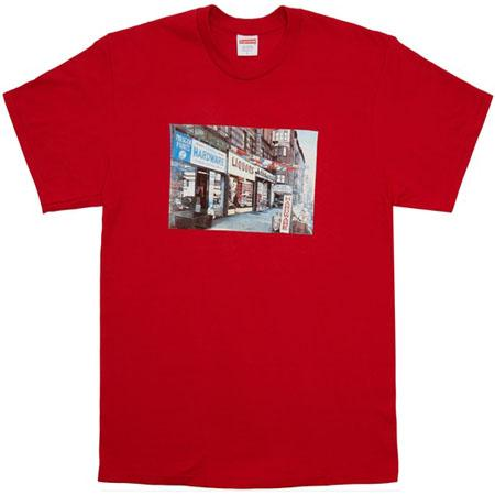 Supreme Hardware Tee- Red
