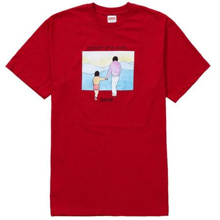 Supreme Heaven And Earth Tee- Red