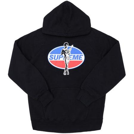 Supreme Hysteric Glamour Hoodie- Black