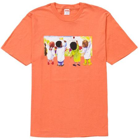 Supreme Kids Tee- Neon Orange