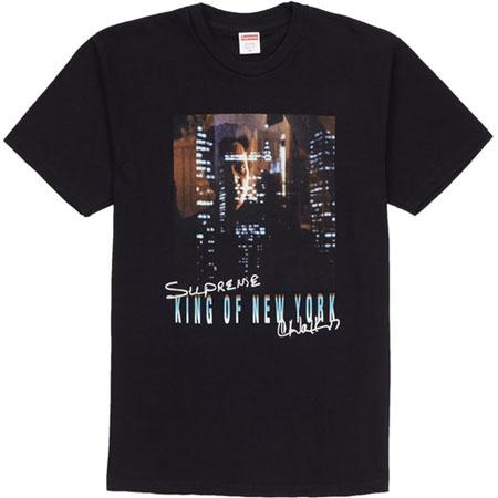 Supreme King of New York Tee- Black