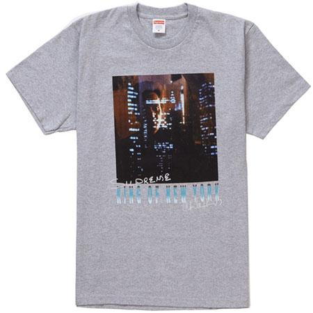Supreme King of New York Tee- Heather Grey