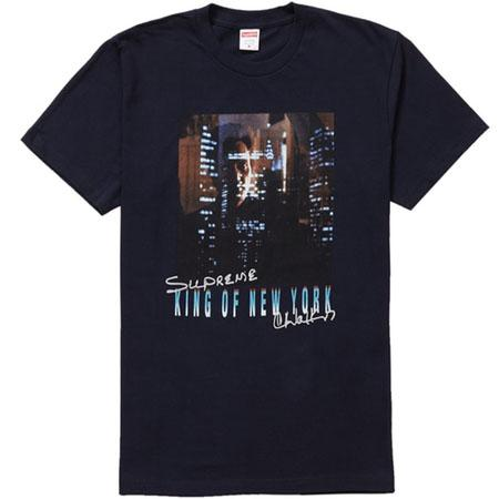 Supreme King of New York Tee- Navy