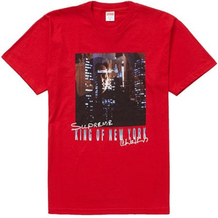 Supreme King of New York Tee- Red