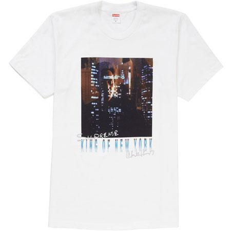 Supreme King of New York Tee- White
