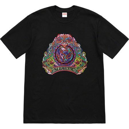 Supreme Knot Tee- Black