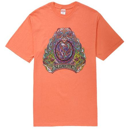 Supreme Knot Tee- Neon Orange