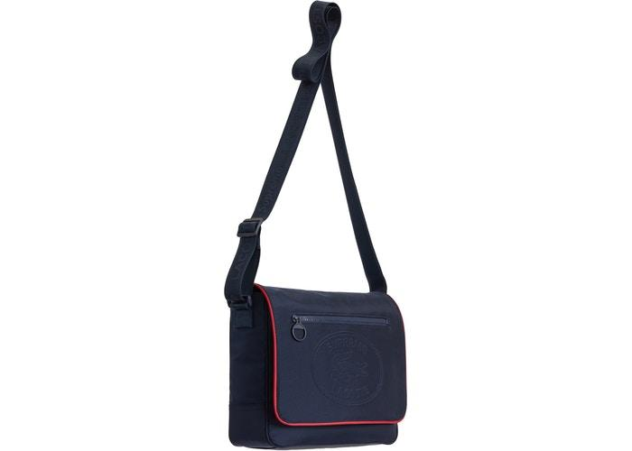 Supreme LACOSTE Small Messenger Bag- Navy