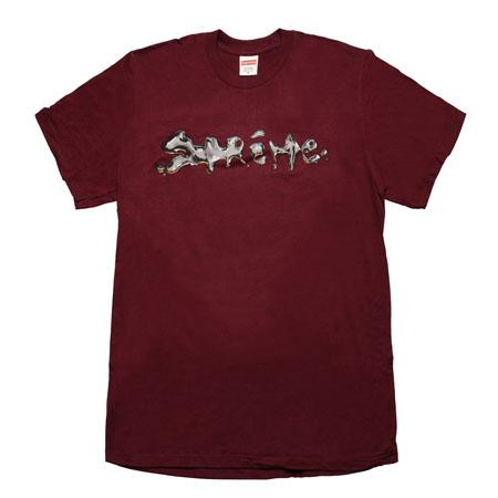 Supreme Liquid Tee- Burgundy