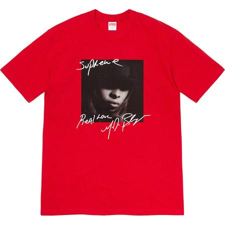 Supreme Mary J. Blige Tee- Red