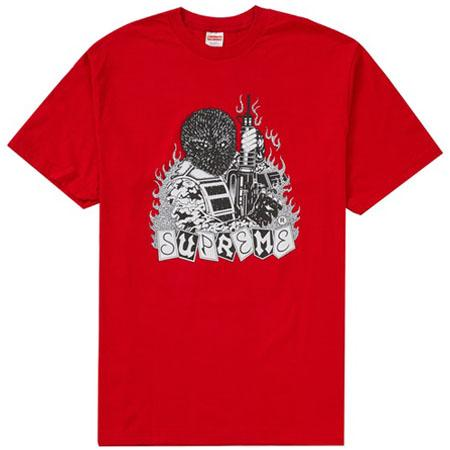 Supreme Mercenary Tee- Red