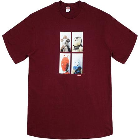 Supreme Mike Kelley AhhYouth! Tee- Burgundy