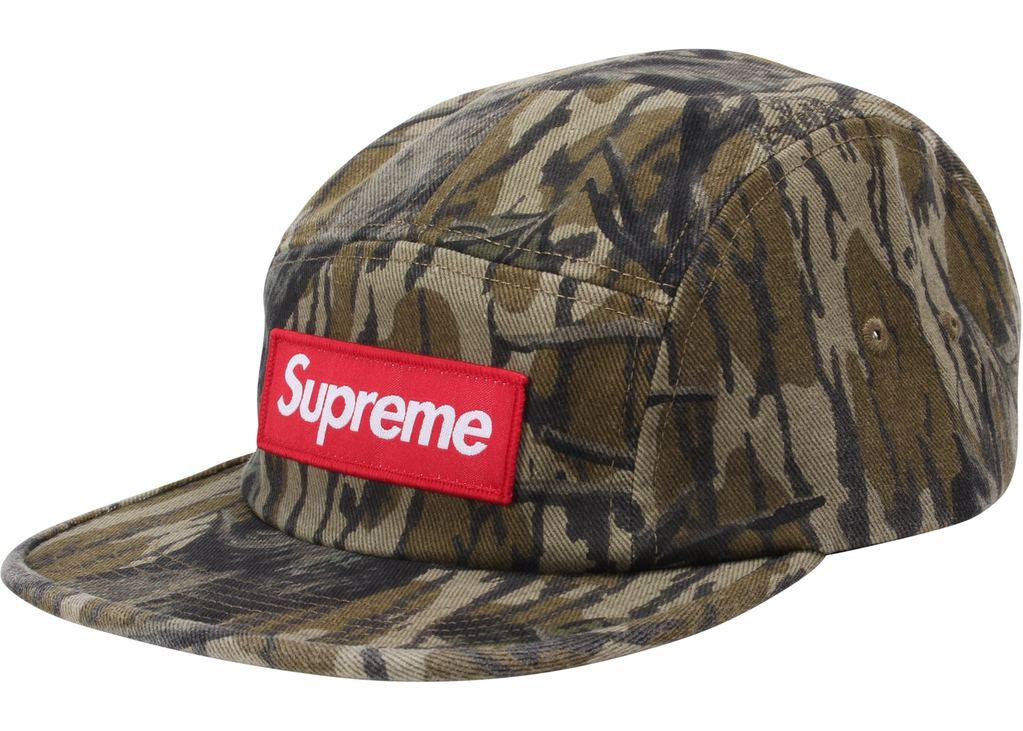 Supreme Military Camp Cap (FW18)- Mossy Oak Camo