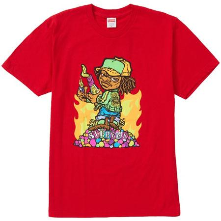 Supreme Molotov Kid Tee- Red