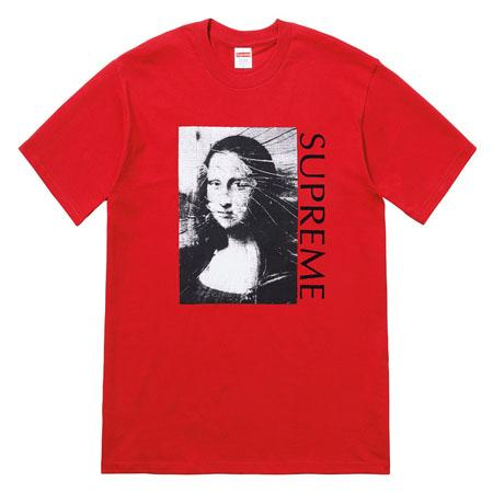 Supreme Mona Lisa Tee- Red