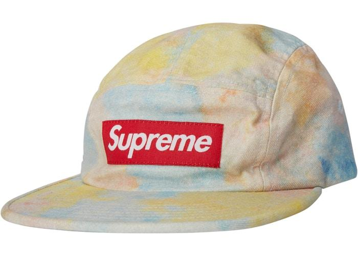 Supreme Multicolor Denim Camp Cap- Multicolor