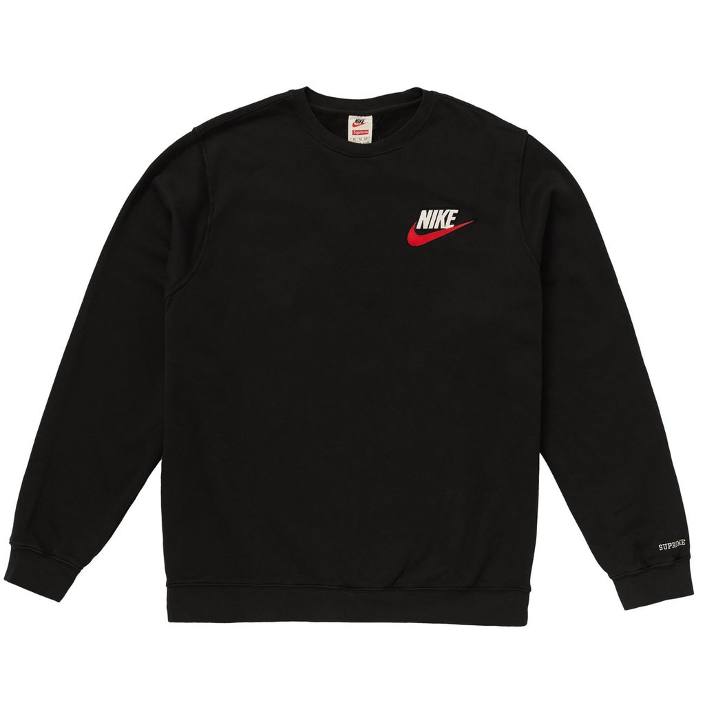 Supreme Nike Crewneck- Black