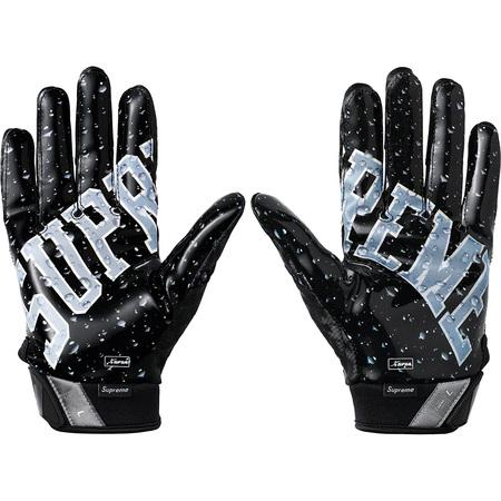 Supreme Nike Vapor Jet 4.0 Football Gloves- Black