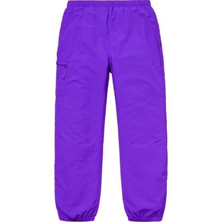 Supreme Nylon Trail Pant- Purple
