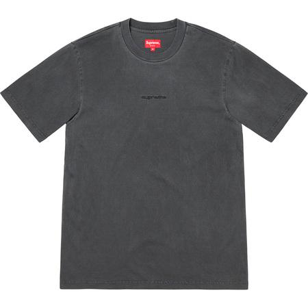 Supreme Overdyed Tee- Black