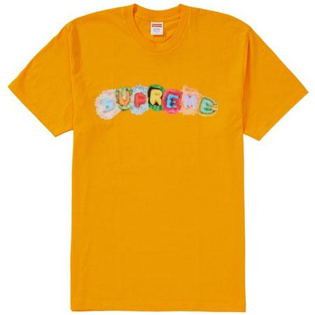Supreme Pillows Tee- Bright Orange
