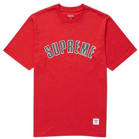 Supreme Printed Arc S/S Top- Red