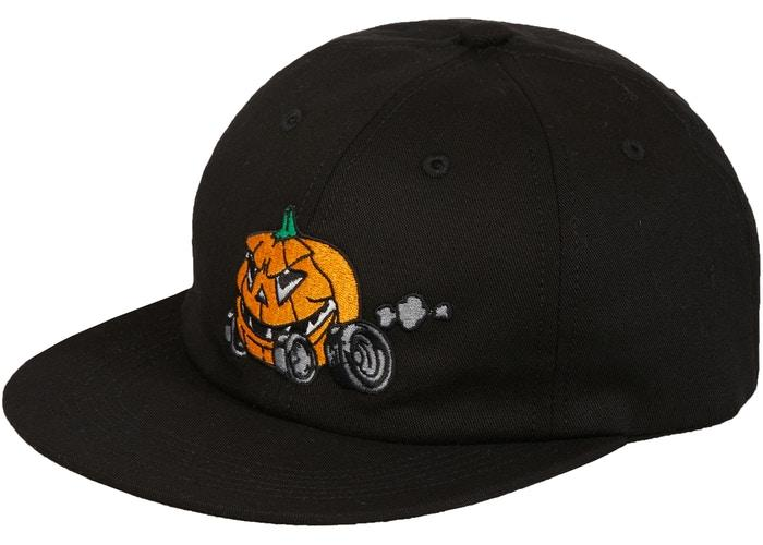 Supreme Pumpkin 6-Panel- Black