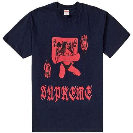 Supreme Queen Tee- Navy