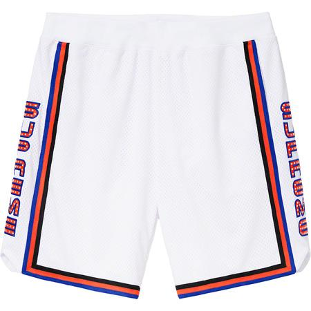 Supreme Rhinestone Basketball Short- White