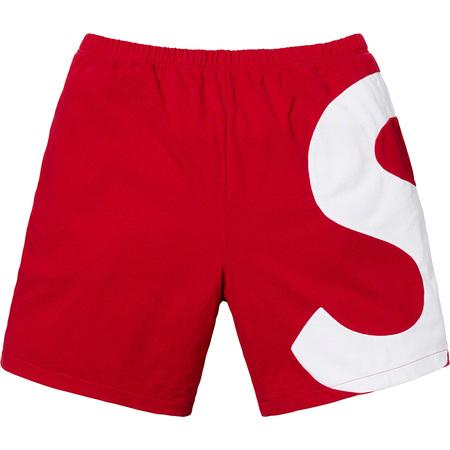 Supreme S Logo Short- Red