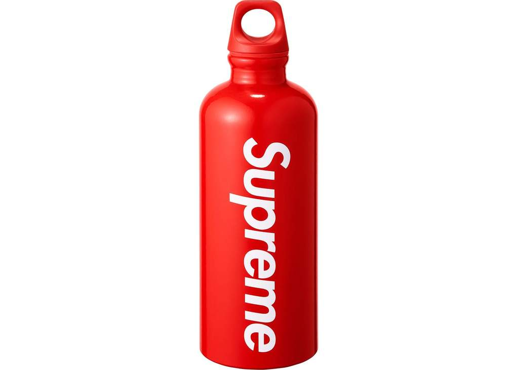 Supreme SIGG Traveller 0.6L Water Bottle- Red