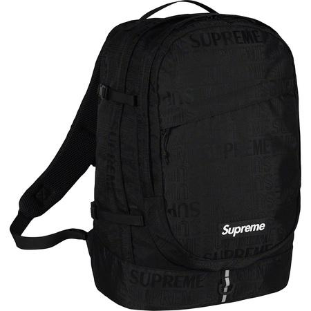 Supreme SS19 Backpack- Black