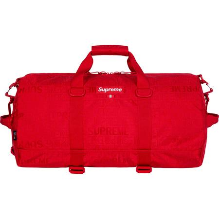 Supreme SS19 Duffle Bag- Red