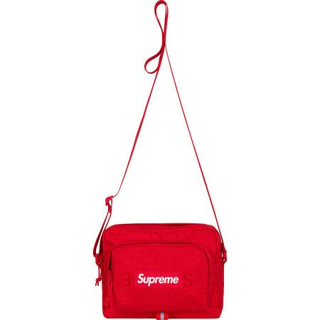 Supreme SS19 Shoulder Bag- Red