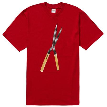 Supreme Shears Tee- Red