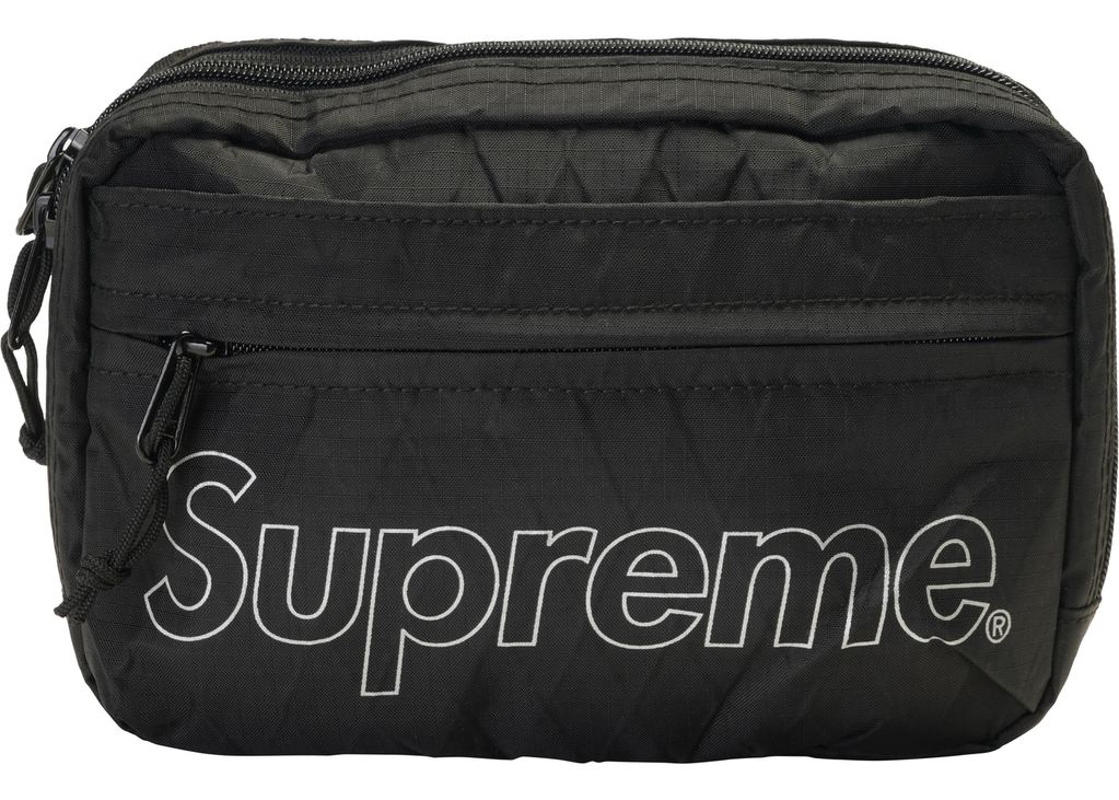 Supreme Shoulder Bag (FW18)- Black