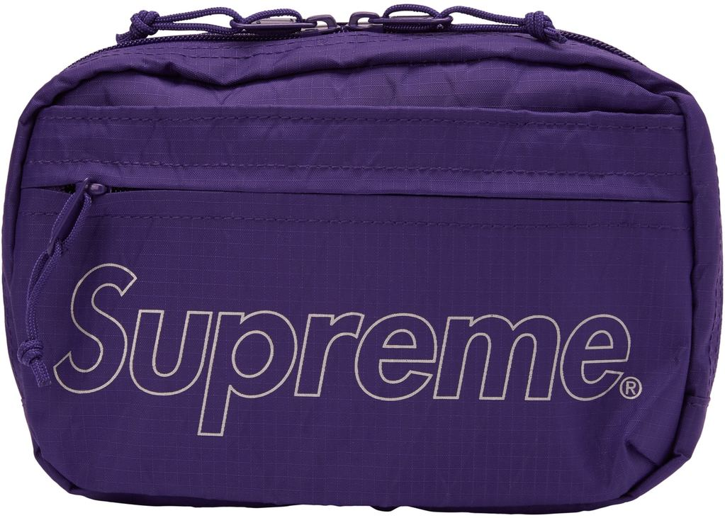 Supreme Shoulder Bag (FW18)- Purple